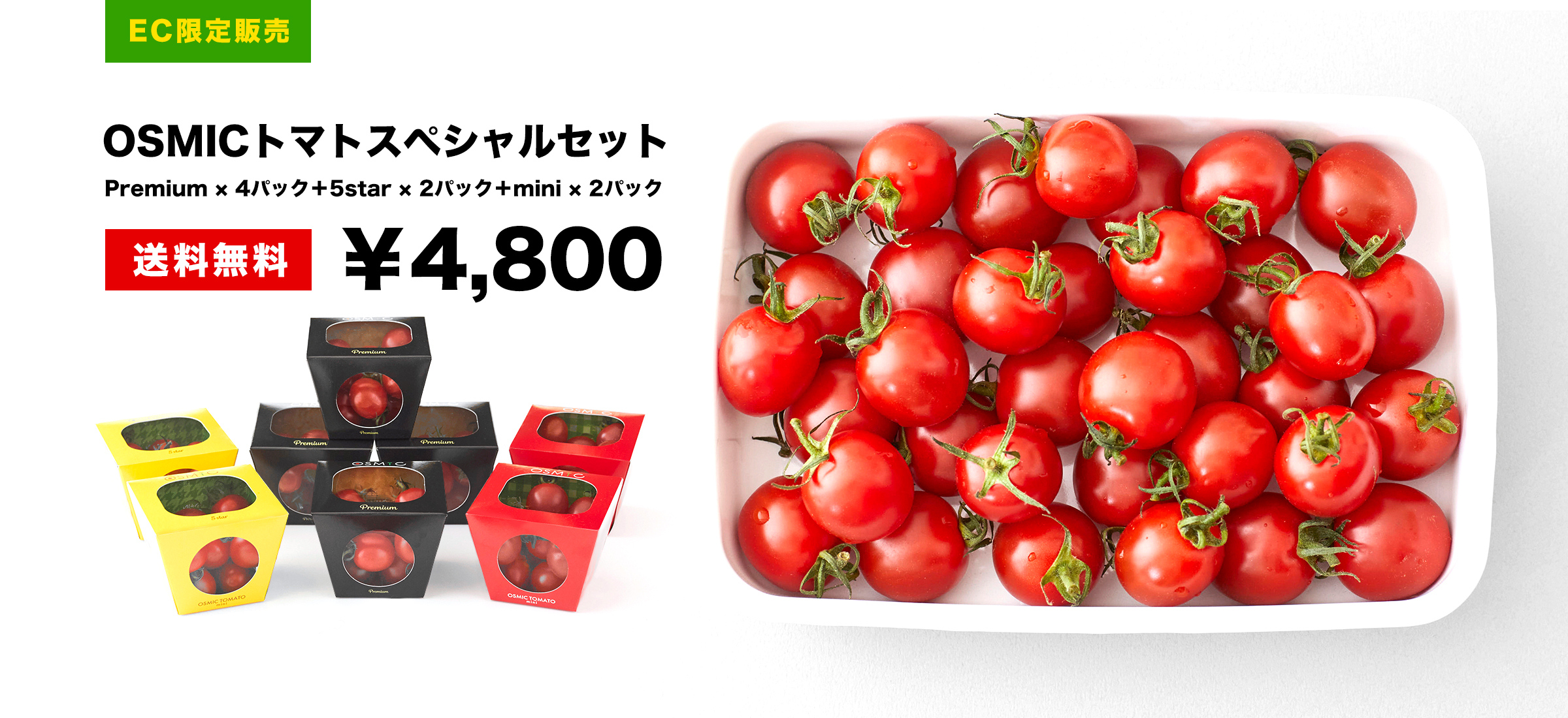 OSMICトマトEC限定スペシャルセット